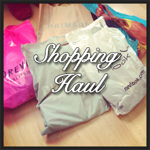 Shopping Haul Icon